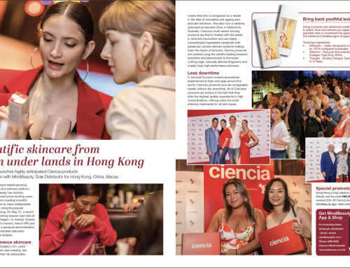 Scientific Skin Care from Down Under Lands in Hong Kong